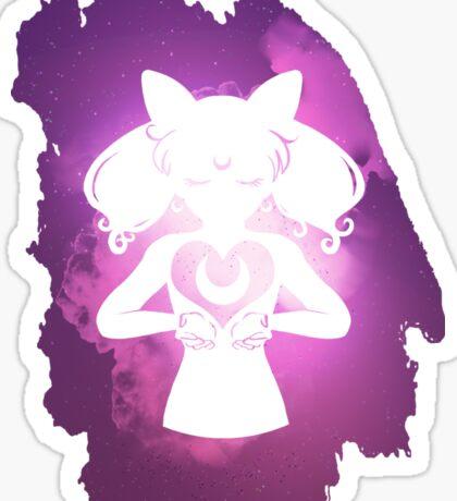 Cosmic Chibi Moon v1 Sticker