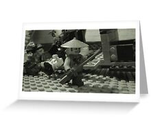 Lego Resistance Fighter Greeting Card