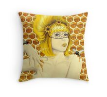 Apiphilia Throw Pillow