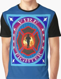Fire fighter vintage gits  Graphic T-Shirt