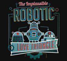 Robotic Love Triangle by morlock