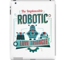 Robotic Love Triangle iPad Case/Skin