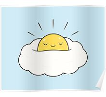 Egg Cloud Poster