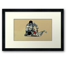 The Ground is my Ocean Part two Framed Print