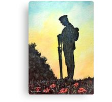 We Will Remember Canvas Print