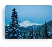 Good Morning Rainier Canvas Print