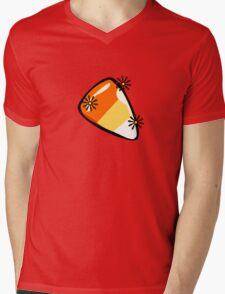 Candy corn - YummyPreciousShinySparkly!!! Mens V-Neck T-Shirt