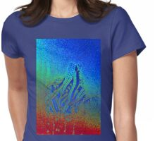 WINDOW FROST - HEAT MAP Womens Fitted T-Shirt