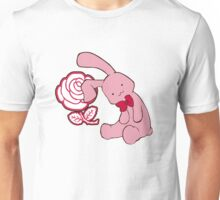 Bunny, bunny, fall in love Unisex T-Shirt