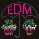 Electronic Dance Music (black) by 1111