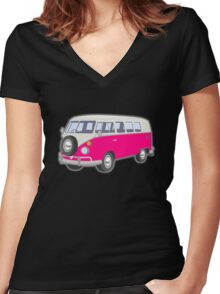 coll Arrow in the Knee The Amazing Childish Women's Fitted V-Neck T-Shirt