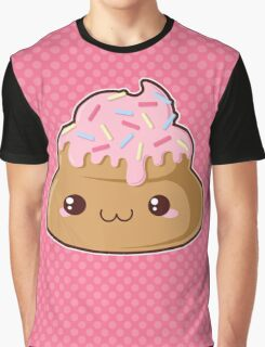 Sugar-Cute Poop Graphic T-Shirt