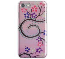 Daisies Pink Purple White iPhone Case/Skin