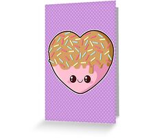 Sugar-Cute Heart Greeting Card