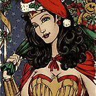 Season's Greetings from Wonder Woman by Renato Roccon