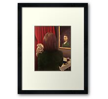 The Mirror Stage Framed Print
