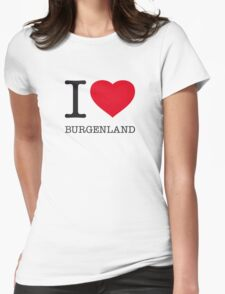 I ♥ BURGENLAND Womens Fitted T-Shirt