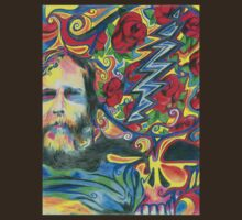 """Brent Mydland -Roses are Red"" by Kevin J Cooper"