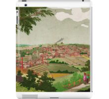 Halifax England an old Picture 1830. iPad Case/Skin