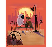 Wall-E and Eve Photographic Print