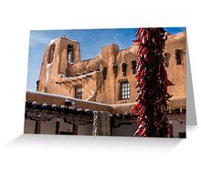 Adobe Courtyard Greeting Card