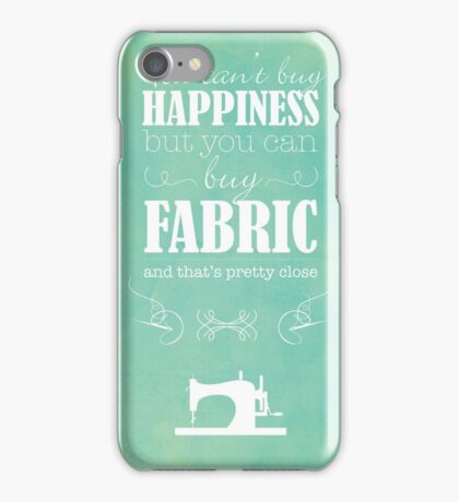 Sewing Poster iPhone Case/Skin