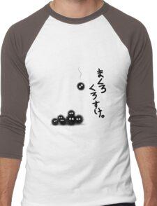 Totoro Soot Sprites  Men's Baseball ¾ T-Shirt