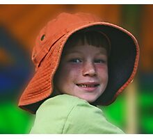 Freckles And A Smile Photographic Print