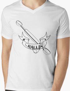 Ballin' Mens V-Neck T-Shirt