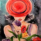 TWO LIPS AND A RED HAT  by kimberlysdream