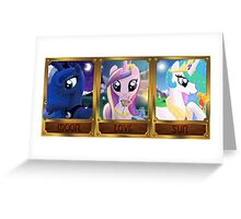 Pony Princesses Greeting Card
