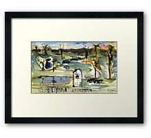 Outback Station Framed Print