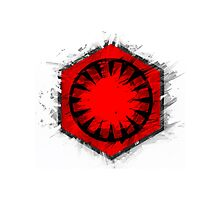 SW old First Order flag Photographic Print
