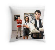 Ferris Bueller Shirt Throw Pillow