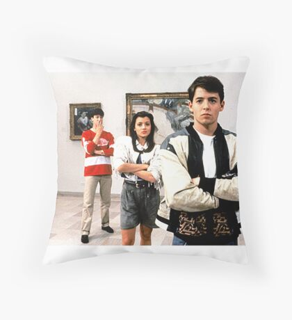 Ferris Bueller Shirt Throw Pillow