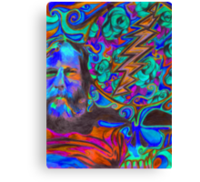 """Brent Mydland - Brent is  Blue"" Canvas Print"