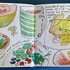 from the food diary: Christine's Christmas bowl by Evelyn Bach