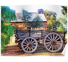 Outback Australian Scene Poster
