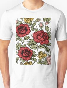 Floral rose Unisex T-Shirt