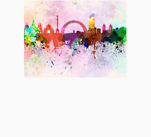 Kiev skyline in watercolor background Unisex T-Shirt