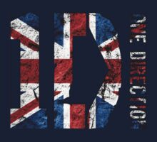 One Direction British Flag Shirt by femmefatale22