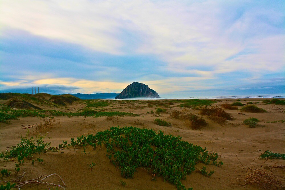 Morro Bay Rock by judsonphoto