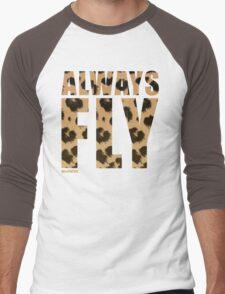 Animal Print! Always Fly tee :D Men's Baseball ¾ T-Shirt
