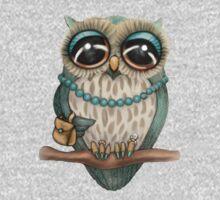 Elegant Owl Kids Clothes