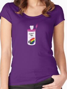 Hawthorne Pride Wipes Women's Fitted Scoop T-Shirt