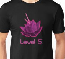 Level 5 Laser Lotus - Pink Unisex T-Shirt
