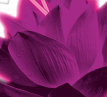Level 5 Laser Lotus - Pink Sticker
