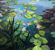 Lotus Flowers  by kirilart