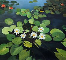 Water Lilies by kirilart