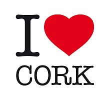 I ♥ CORK Photographic Print